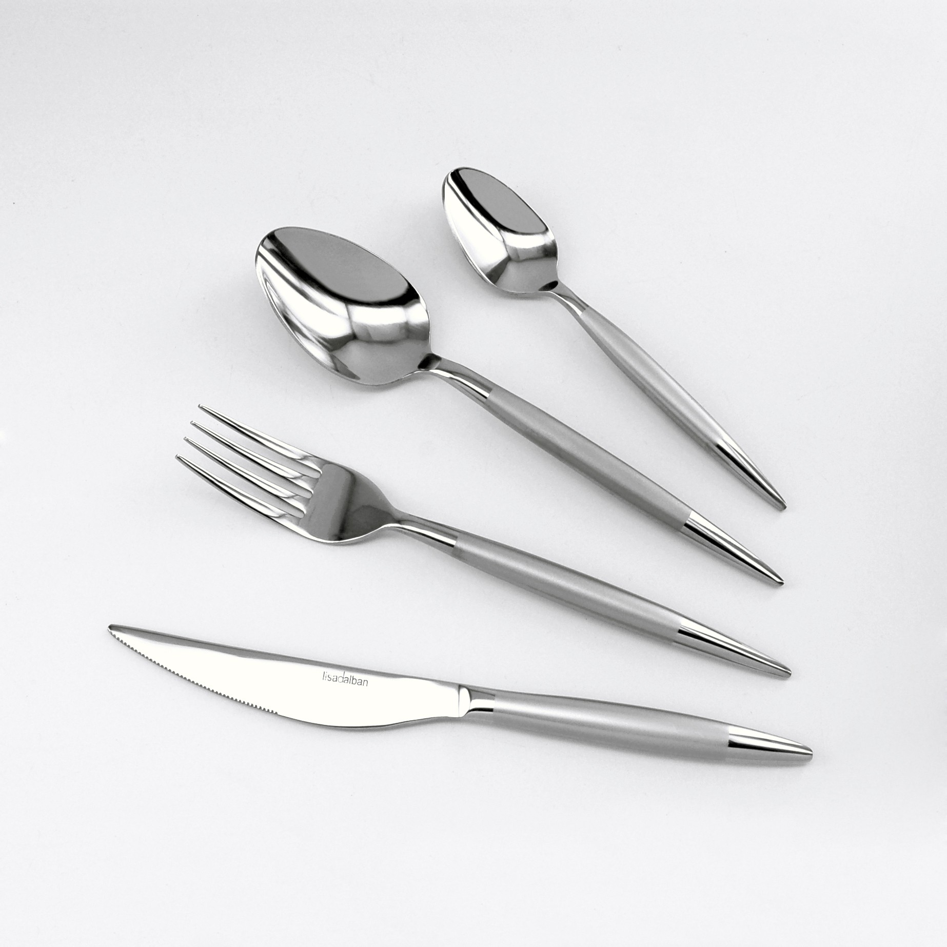 Alize - ménagere 16 pieces inox charme