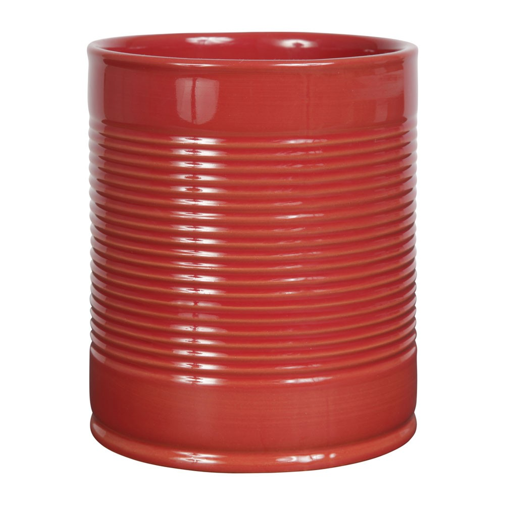 Conserve - porte ustensils rouge
