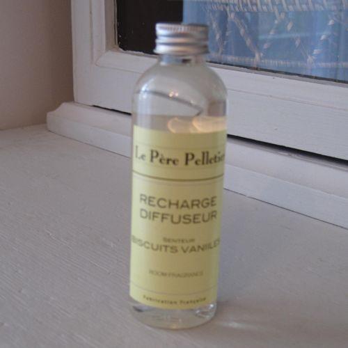 Tout Couleurs -Recharge diffuseur 100ml parfum biscuit vanille