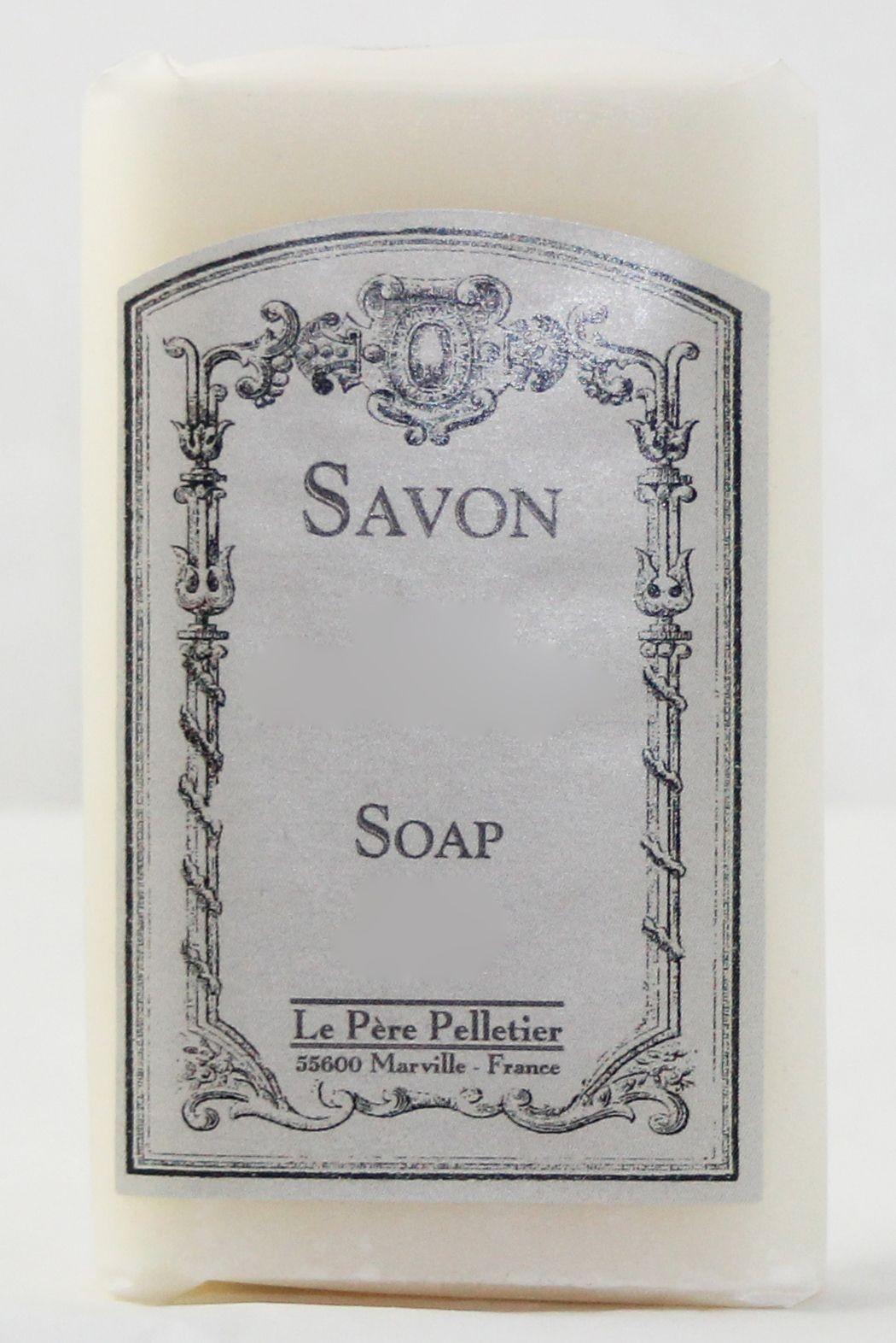 Classique - Savon calque feuille de thé  100gr (par2)