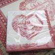 Servin  -  Serviette en papier montagne ( par 20)