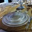 Précieuse -Assiette à dessert en verre transparente (par2)