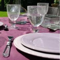 Constance - Assiette à dessert chardon (par6)