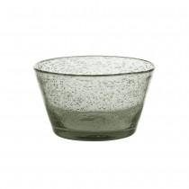 Artisan - Coupelle  verre bullé gris (par6)