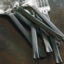 Facto - Couverts à salade brossé mat