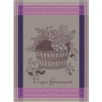 Verger gourmand - Torchon verger gourmand cassis