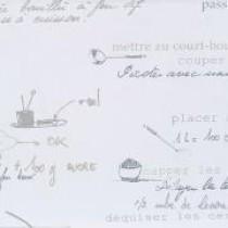 Secret de recettes - Serviettes papier (Paquet de 20) 16X16cm