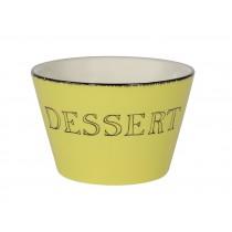Apéro  -  Bol  dessert citron vert en céramique  (par6)