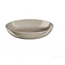 Voyage - Assiette creuse  pavot porcelaine (par2)