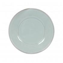Constance - Assiette plate en faience vert d'eau (par4)