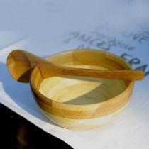 Bamboo  -  Coupe en Bambou avec cuillère assortie  (par2)