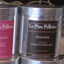 Tout Couleurs -Bougie Boite Alu   parfum pain d Epices