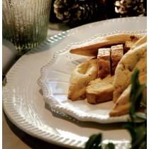 Paris - Assiette plate en faience décor renaissance
