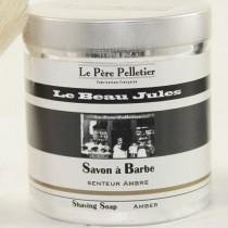 Le Beau Jules - Savon à barbe  Ambre 240gr