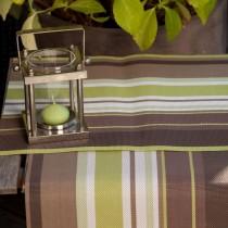 Bayadere - set de table  bayadere vert  (par6)