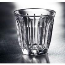 Bistro - Tasse zinc en verre (par 6)