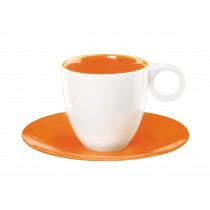 color it - Tasse orange espresso 6cl (par2)