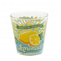 Vintage - Verre à eau serigraphié citron (par 6)